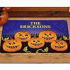 Personalized Pumpkin Family 24x36 Doormat