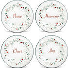Pfaltzgraff Winterberry Sentiment Plates