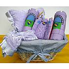 Lilac Baby Pillow Gift Set
