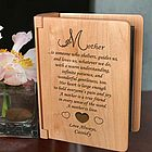 Personalized What It Means to Be a Mother Wooden Photo Album