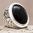 Lima Soul Obsidian Cocktail Ring