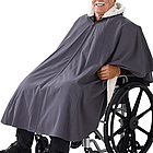 Unisex Wheelchair Lined Cape