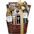 Double Delight Wine Gift Basket