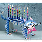 My Pet Cat Menorah