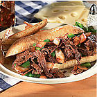 Philly Steak with Onions & Peppers
