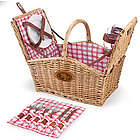 San Francisco 49ERS Piccadilly Willow Picnic Basket