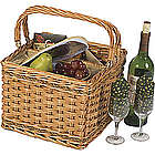 Willow Insulated Wine Picnic Basket