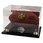 Jacksonville Jaguars Golden Classic Football Display Case