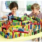 Kid's Wooden Domino Race Set
