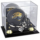 Jacksonville Jaguars Golden Classic Mini Helmet Display Case