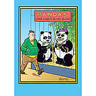 Bling Bling Panda Birthday Card