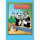 Bling Bling Panda Birthday Card