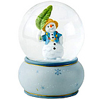 Snowman's Holiday Musical Water Globe