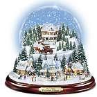 Victorian Christmas Village Snowglobe