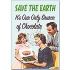 Save the Earth Humor Birthday Greeting Card
