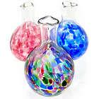 Glass Heart Bud Vase