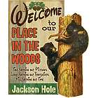Personalized Place in the Woods Sign