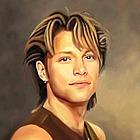 Jon Bon Jovi Oil Painting Giclee