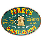 Game Room Personalized Sign