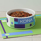 Personalized Designer Pet Bowls - Large