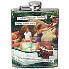Stay Wasted All Day Hip Flask