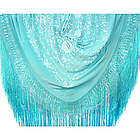 Spanish Egyptian Snowflake Flamenco Silk Shawl