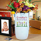 Personalized Ceramic Petals and Buds Vase