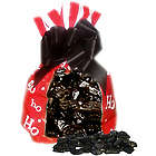 Ho Ho Ho Christmas Coal Bag of Chocolate