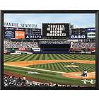 New York Yankees Personalized Scoreboard 16x20 Framed Canvas