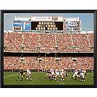 Cleveland Browns Personalized Scoreboard 11x14 Framed Canvas