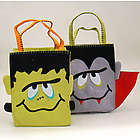 Monster Mash Personalized Halloween Trick or Treat Bag
