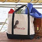 Weekend Getaway Embroidered Tote Bag