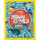 National Geographic Kids - Big Book of Brain Game Boredom Busters