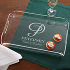 Family Monogram Personalized Serving Tray