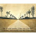 Long Journeys Personalized Fine Art Print