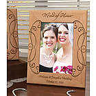 Personalized Maid of Honor Wooden Picture Frame