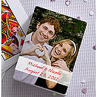 Personalized Wedding Photo Playing Cards