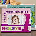 Happy Birthday To Me Kid's Personalized Photo Frame