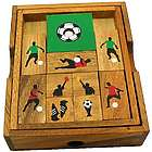 Soccer Field Wooden Puzzle Brain Teaser