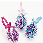 Sequin Egg Ornament Craft Kit