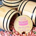 Personalized Candy Barrel Party Favor