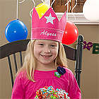 Personalized Birthday Crown for Girls