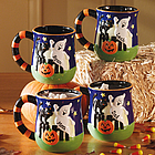 Personalized Halloween Mug Set