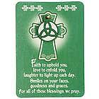 Irish Blessing Wallet Cards