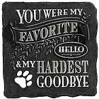 Memorial Stone for Pets My Hardest Goodbye