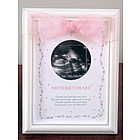 Mother's Heart Ultrasound Frame