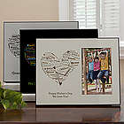 Her Heart of Love Personalized Photo Frame