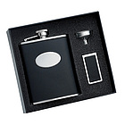 Flask and Money Clip Set