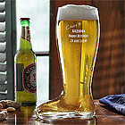 Cheers To You! 1 Liter Engraved Beer Boot
