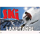 Ski Lake Tahoe Sign